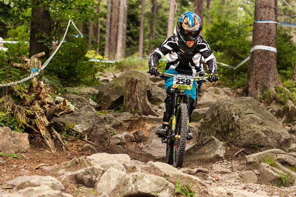 Rider: Felix Liepert Foto: iXS Cup.