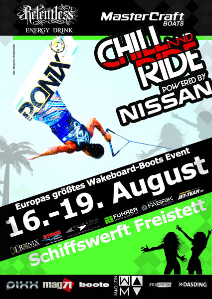 Flyer Foto: Chill and Ride 2012.