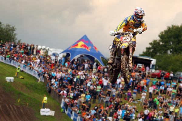 MX Rider beim ADAC MX Master in Emmen 2012.  Foto: Marcus Schiffer