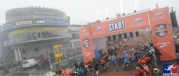 Der Start beim Fisherman�StrongmanRun 2012.  Foto: Fisherman�StrongmanRun 2012