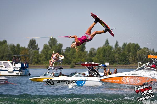 Carro Djupsjoe macht selbst den Männern Konkurrenz.  Foto: Benjamin Wiedenhofer