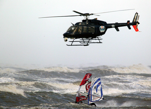 Red Bull Wind Chase 2006.  Foto: Bootz Red Bull Content Pool