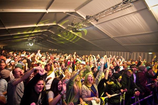 Party beim kaunertal Opening 2011.  Foto: Rudi Wyhlida
