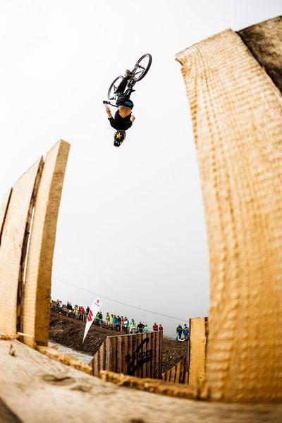 Rider Sorge mit der etwas anderen Perspektive.  Foto: Stef Cande