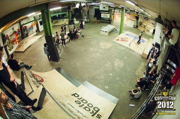 Der Skatepark.  Foto: Rasmus Trunz
