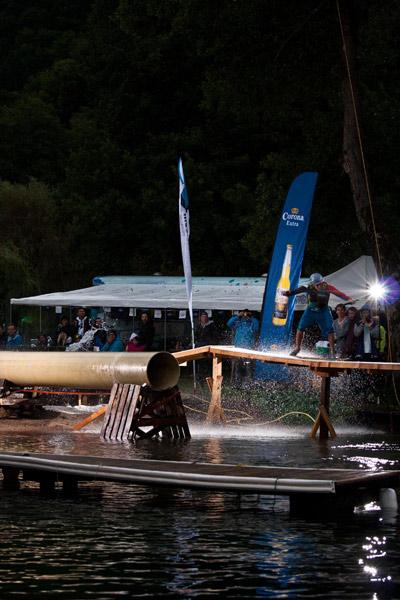Kevin Cobb beim Wakeboard Cup 2012.  Foto: Sam Strauss