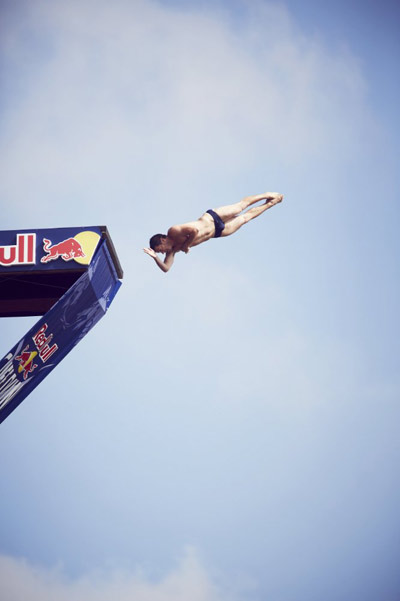 Cliff Diving Wolrd Series 2012.  Foto: Red Bull Content Pool