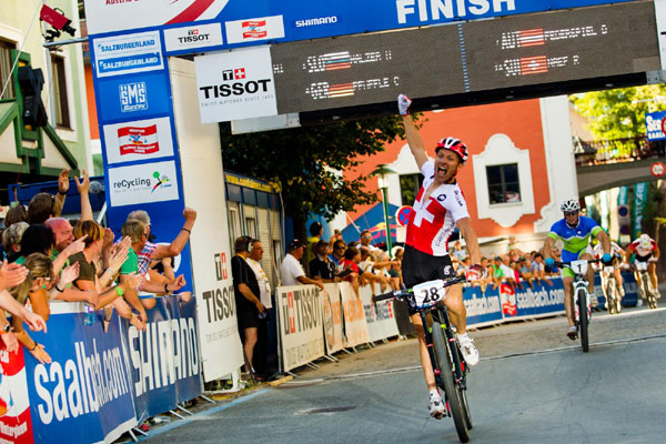 UCI Mountainbike WM Leogang.  Foto: Ale DiLulo