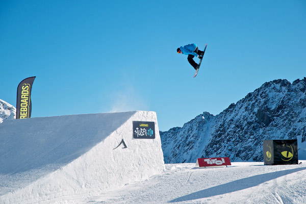 Moreboards Stubai Permiere 2012.  Foto: Veranstalter