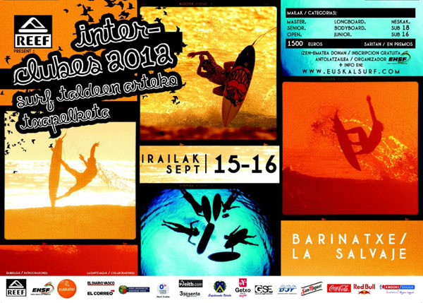 Interclubs Basque Country Surf Championship 2012.  Foto: Veranstalter