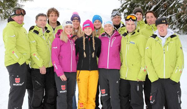 Snowboard Trainingslager in der Schweiz.  Foto: Oliver Kraus