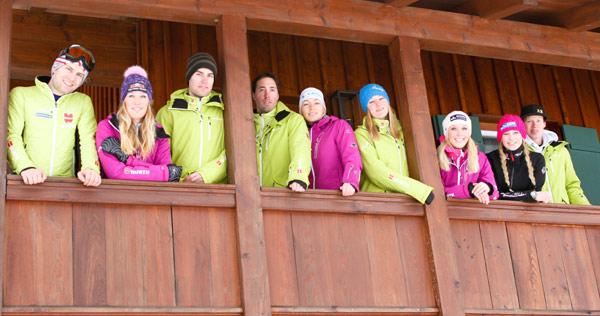 Downhill Snowboarder im Trainingslager in der Schweiz Oliver Kraus
