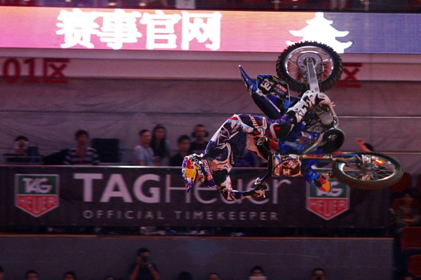 Night of the Jumps Guangzhou 2012.  Foto:  NIGHT of the JUMPs