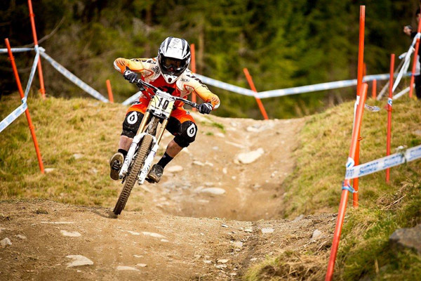 UCI MTB Downhill-Worldcup Hafjell.  Foto: Sven Martin
