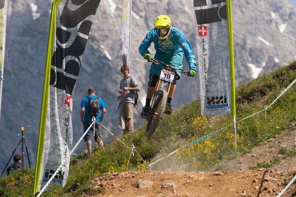 European Downhill Cup Todtnau.  Foto: Thomas Dietze