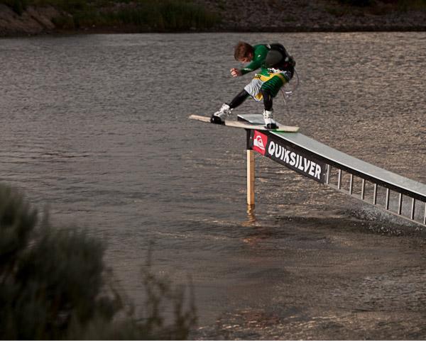 Obstacle Kite Park Saal.  Foto: Lars Franzen