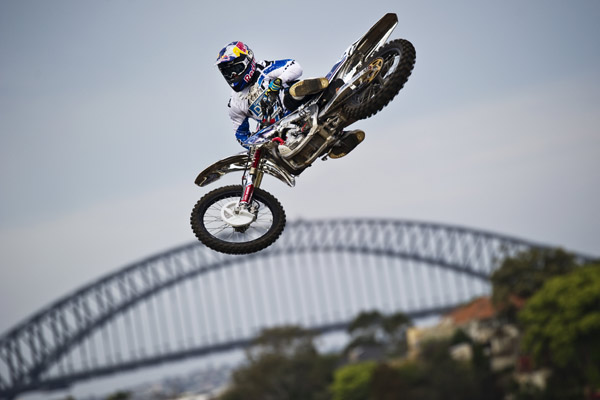 X-Fighters Sydney 2011.  Foto: Jörg Mitter/Red Bull Content Pool