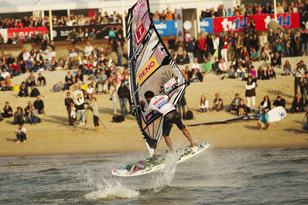 PWA World Cup Sylt.  Foto: John Carter