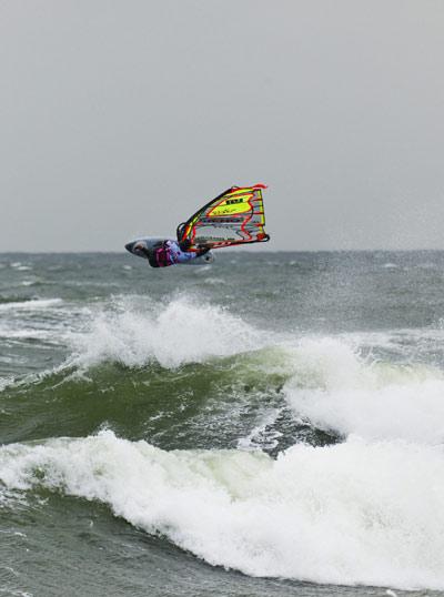 Wave beim PWA Windsurf World Cup Sylt.  HOCH ZWEI / Sebastian Schöffel