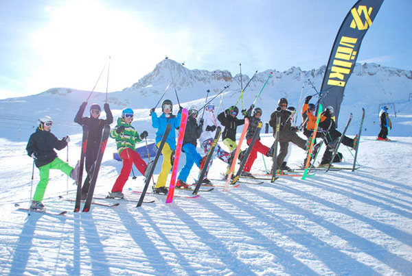 Young Blood Freeski Camps.  Foto: Veranstalter