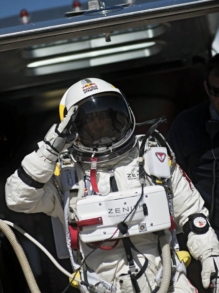 Red Bull Stratos 2012.  Foto: J�rg Mitter/Red Bull Content Pool