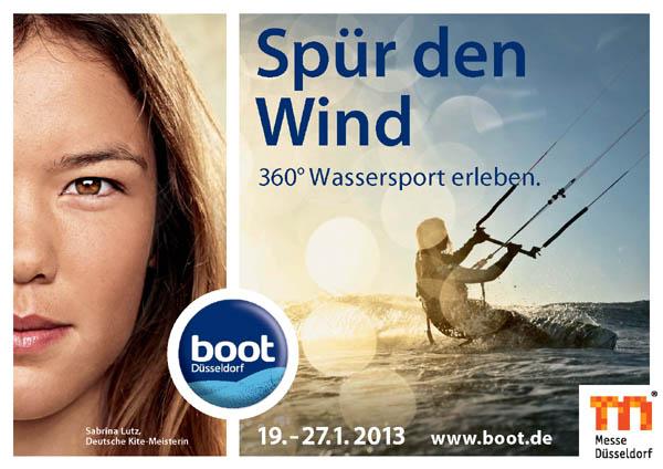 Boot Düsseldorf 2013.  Foto: Veranstalter