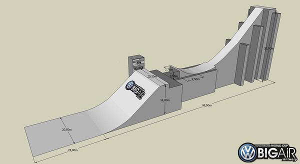 FIS Snowboard World Cup Antwerpen 2012.  Foto: Organisation