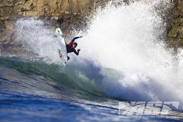 Adriano de Souza beim Cold Water Classic Santa Cruz 2012.  Foto: ASP/Rowland