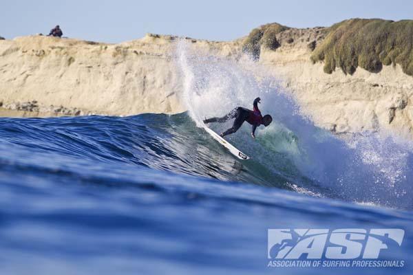 Damien Hogbood beim Cold Water Classic Santa Cruz 2012.  Foto: ASP/Rowland