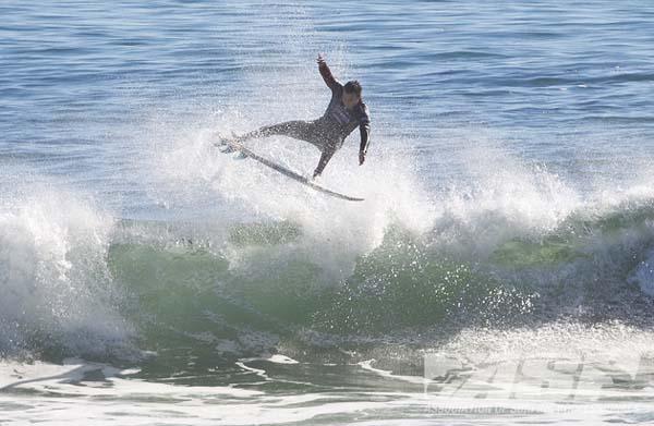 Joel Parkinson beim Cold Water Classic Santa Cruz 2012.  Foto: ASP/Kirstin