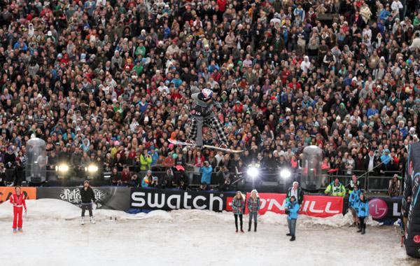 FIS Snowboard World Cup Antwerpen.  Foto: Oliver Kraus