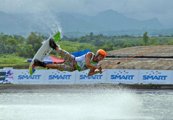 Cable Wakeboard WM Philippinen.  Foto: Veranstalter