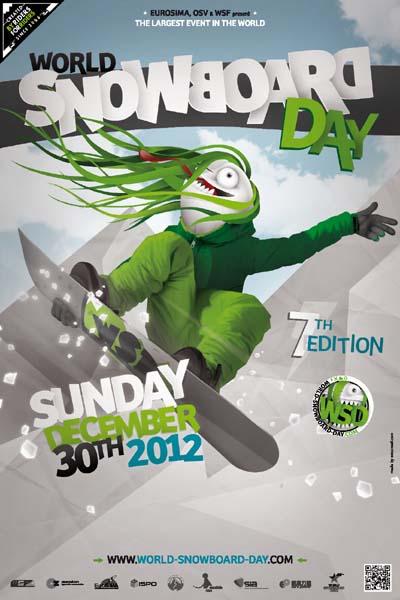 World Snowboard Day 2012.   Foto: Veranstalter