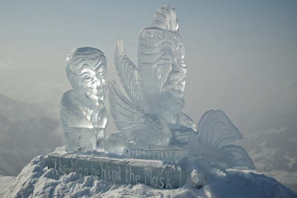 Art on Snow 2013.  Foto: Veranstalter