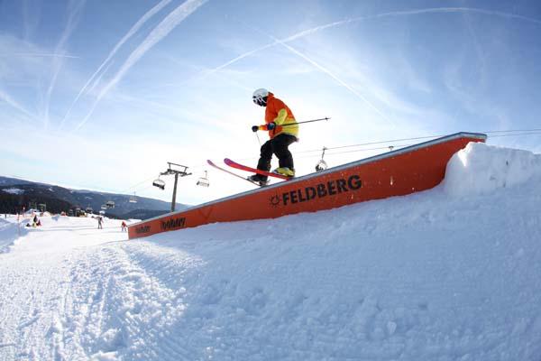 MINI Snowpark Feldberg.  Foto: Martin Hermann
