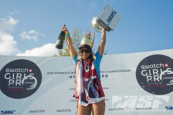 Swatch Girl Pro China.  Foto: ASP/Robertson