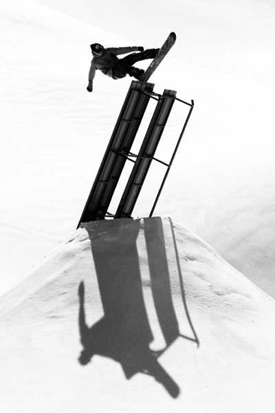 Snowpark Montafon.  Foto: Cyril Müler