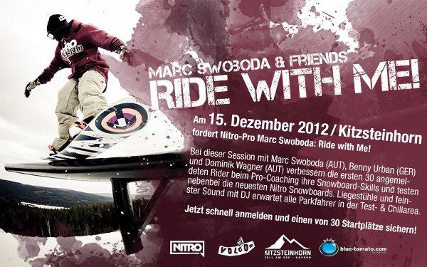 Ride with me.  Foto: Veranstalter
