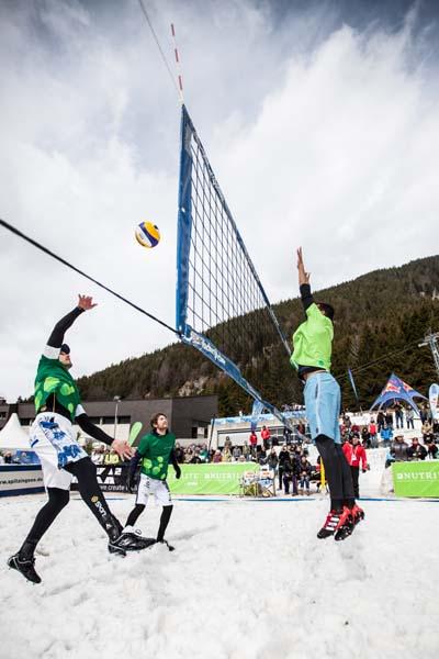 Snow Volleyball.  Foto: Veranstalter