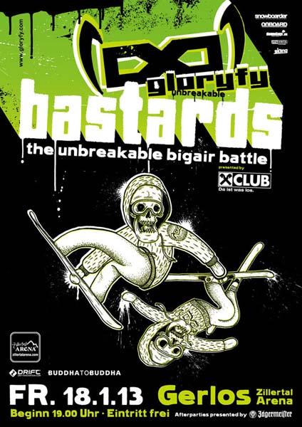 glorify Bastards unbreakable Big Air Battle.  Foto: Veranstalter