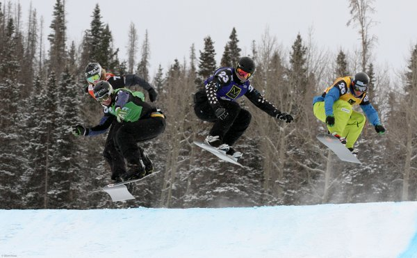 FIS Snowboardcross World Cup Telluride.  Foto: FIS/Oliver Kraus: