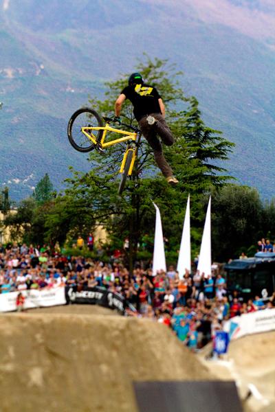 King of Dirt beim Bike Festival Garda Trentino 2012.  Foto: Veranstalter