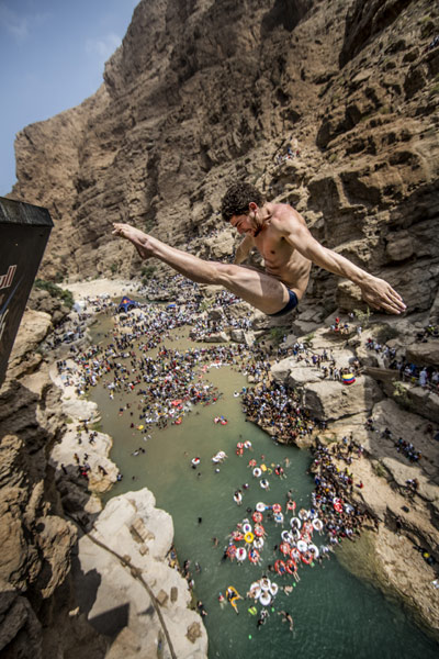 Cliff Diving World Series Oman  2012.  Foto: Romina Amato/Red Bull Content Pool