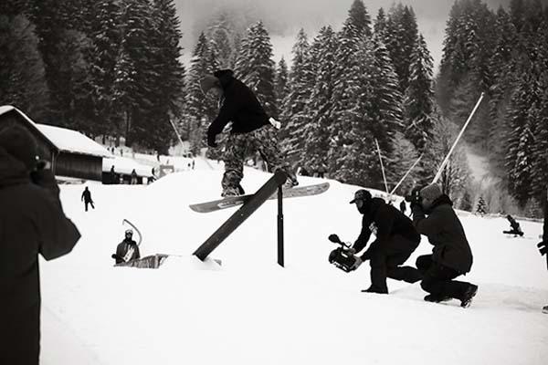 Crystal Ground Snowpark Kleinwalsertal.  Foto: Veranstalter