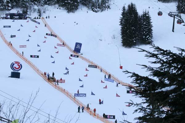 Snowboard World Cup 2013.  Foto: Oliver Kraus