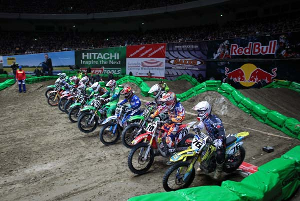 Supercross Dortmund.  Foto: Jan Brucke