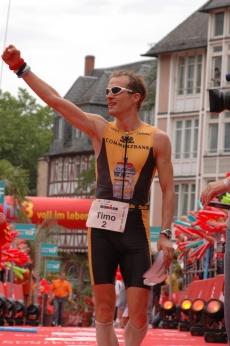Sieger 2007 Timo Bracht. Foto: Ironman Frankfurt