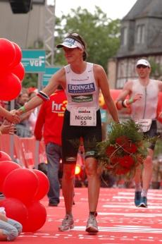 Siegerin 2007 Nicole Leder. Foto: Ironman