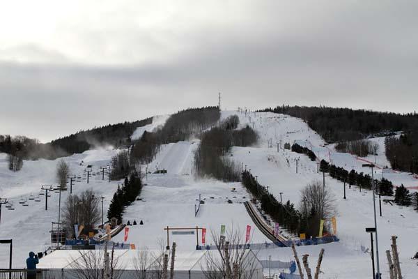 FIS Snowboard Weltmeisterschaft Kanada 2013.  Foto: Oliver Kraus