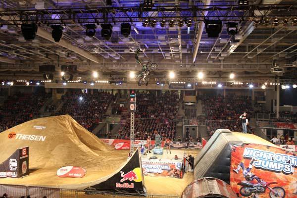Night of the Jumps Linz 2013.  Foto: Oliver Franke / NOTJ.de